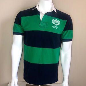 Ralph Lauren Polo Rugby Stripe Short Sleeve Shirt